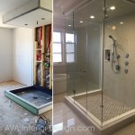 bathroom renovation by AVA Interior Design
