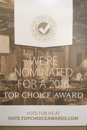 Nominated for a Top Choice Award
