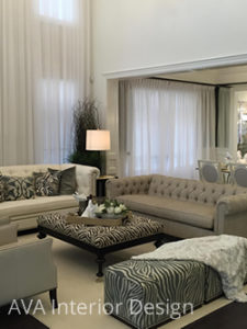 comtemporary livingroom Mississauga interior design