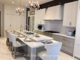 Elegant white kitchen design Mississauga