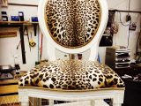 Custom designed furniture- Leopard chair