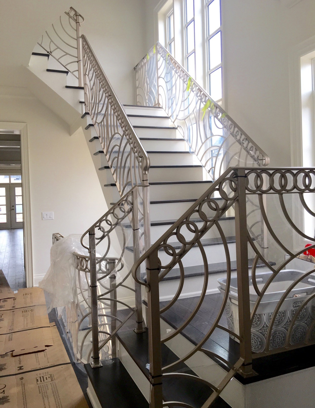 Top Toronto Interior Design Professional Creates Custom Staircase Railing