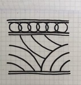 custom railing drawing