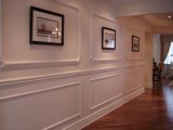 Custom designed moulding patterns and gallery art